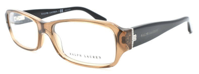 Ralph Lauren RL6121B 5217 Women's Eyeglasses Frames 52-16-140 Transparent Brown