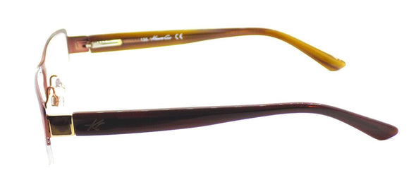 Kenneth Cole NY KC190 045 Women's Eyeglasses Frames 54-17-135 Shiny Light Brown