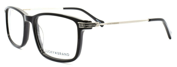 LUCKY BRAND D402 Men's Eyeglasses Frames 51-18-140 Black + CASE