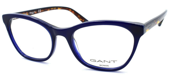 GANT GA4084 090 Women's Eyeglasses Frames Cat Eye 53-18-140 Blue