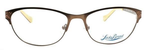 LUCKY BRAND Waves Women's Eyeglasses Frames 53-16-135 Brown + CASE