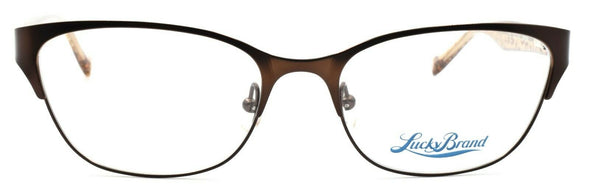 LUCKY BRAND D100 Women's Eyeglasses Frames 52-17-140 Brown + CASE