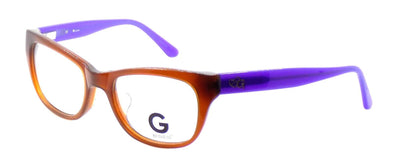 G by Guess GGA102 BRN Women's ASIAN FIT Eyeglasses Frames 52-19-135 Brown + CASE
