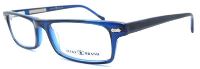 LUCKY BRAND Jacob Kids Boys Eyeglasses Frames 47-15-130 Navy + CASE