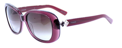 Polaroid PLD 4051/U/S LHFWJ Women's Sunglasses 55-17-140 Burgundy / Gray + CASE