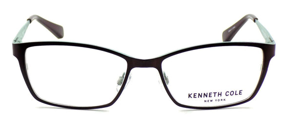 Kenneth Cole NY KC0206 050 Women's Eyeglasses 53-16-135 Matte Dark Brown + CASE