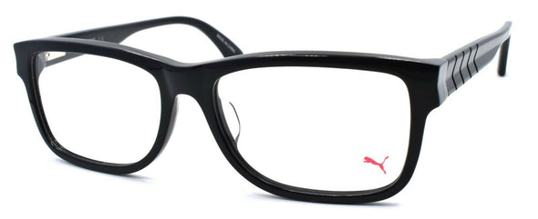 PUMA PU0047OA 008 Men's Eyeglasses Frames 57-17-145 Black