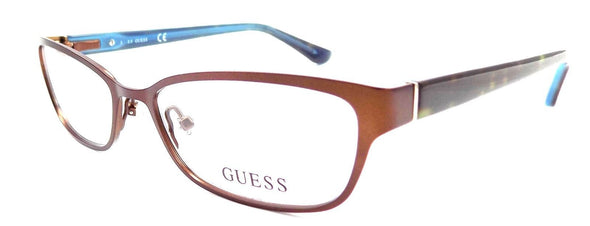 GUESS GU2515 049 Women's Eyeglasses Frames 50-16-135 Matte Dark Brown + CASE