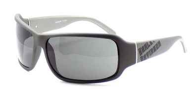 Harley Davidson HDX809 GRY-3 Wraparound Sunglasses Gray 66-14-125 Smoke + CASE