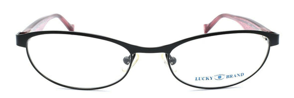 LUCKY BRAND Peppy Women's Eyeglasses Frames PETITE 49-16-130 Black + CASE