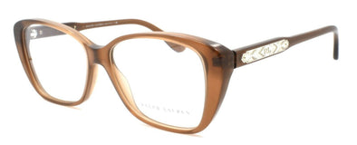 Ralph Lauren RL6116 5477 Women's Eyeglasses Frames 52-14-140 Brown Cognac