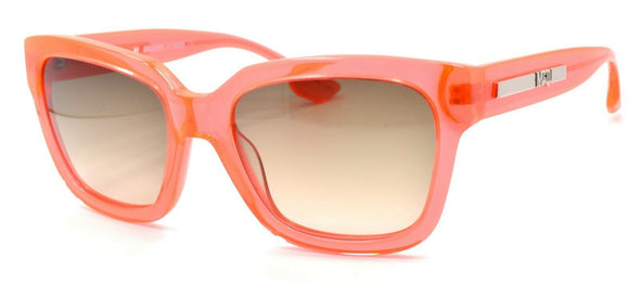 McQ Alexander McQueen MQ0029S 003 Women's Sunglasses Orange Crystal / Gradient