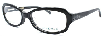 LUCKY BRAND Savannah AF Women's Eyeglasses Frames 55-17-135 Black + CASE