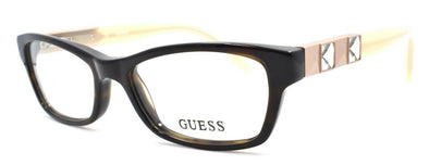 GUESS GU2414 TO Women's Eyeglasses Frames 50-16-135 Tortoise w/ Crystals + CASE