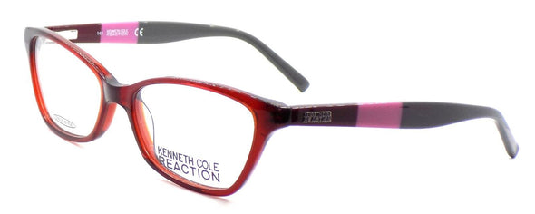 Kenneth Cole REACTION KC0766 069 Women's Eyeglasses 52-16-140 Shiny Bordeaux