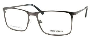 Harley Davidson HD0777 009 Men's Eyeglasses Frames 56-17-145 Gunmetal + Case