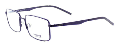 Polaroid PLD D322 PJP Men's Eyeglasses Frames Rectangle 55-16-145 Blue + CASE