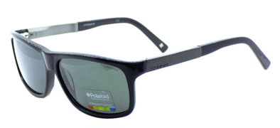 Polaroid X8416 BC5 Men's Sunglasses Polarized 59-13-140 Black / Gray + CASE