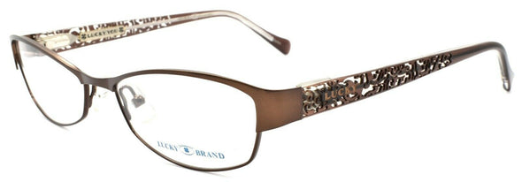 LUCKY BRAND Delilah Women's Eyeglasses Frames 52-16-135 Brown + CASE