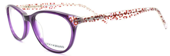 LUCKY BRAND D700 Women's Eyeglasses Frames 50-16-135 Purple + CASE