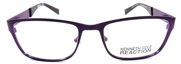 Kenneth Cole REACTION KC0769 082 Eyeglasses 52-18-140 Matte Violet + Case