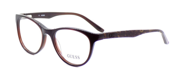 GUESS GU2416 BRN Women's Eyeglasses Frames Cat-eye 50-17-135 Brown + Case