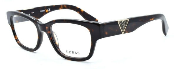 GUESS GU2576 052 Women's Eyeglasses Frames 51-18-135 Dark Havana + CASE