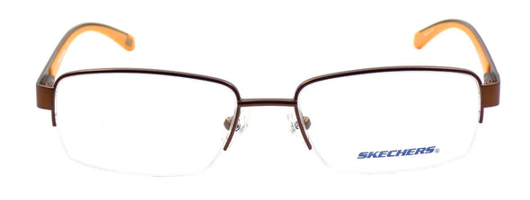 SKECHERS SE3170 049 Men's Eyeglasses Frames 53-17-140 Matte Brown / Orange +CASE