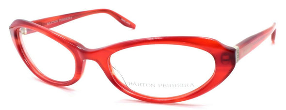 Barton Perreira Lolita Women's Eyeglasses Frames Cat Eye 52-18-133 Scarlet Red