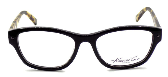 Kenneth Cole NY KC0244 001 Women's Eyeglasses 52-17-135 Shiny Black + CASE