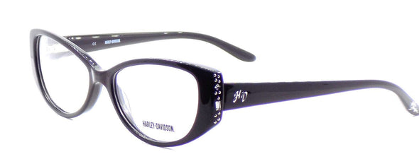 Harley Davidson HD514 BLK Women's Eyeglasses Frames 51-15-135 Shiny Black + CASE