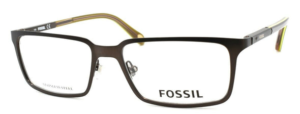 Fossil FOS 6072 EAB Men's Eyeglasses Frames 52-16-140 Brown