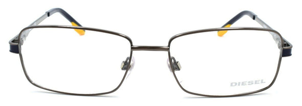 Diesel DL5047 008 Men's Eyeglasses Frames 54-17-140 Anthracite Brown / Blue