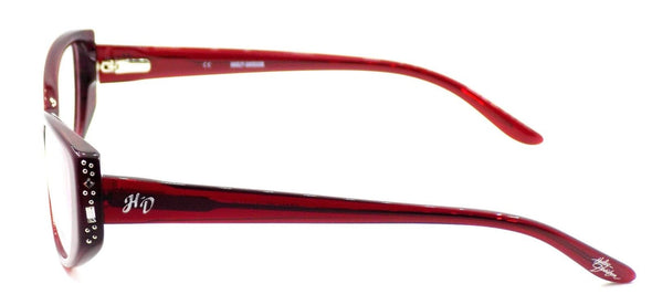 Harley Davidson HD514 RD Women's Eyeglasses Frames 51-15-135 Red + CASE