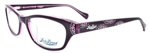 LUCKY BRAND Swirl Women's Eyeglasses Frames 53-17-135 Purple + CASE