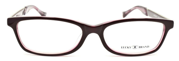 LUCKY BRAND High Noon Women's Eyeglasses Frames 53-16-140 Purple + CASE