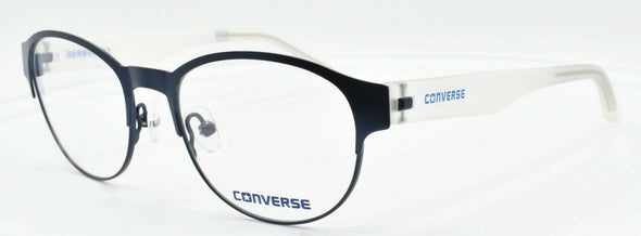 CONVERSE Q030 UF Women's Eyeglasses Frames 49-17-135 Navy Blue / Crystal + CASE