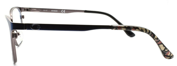 GUESS GU2629 091 Women's Eyeglasses Frames Cat-eye 52-17-135 Matte Blue
