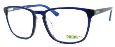 PUMA PU0077OA 004 Women's Eyeglasses Frames 56-18-145 Blue + CASE