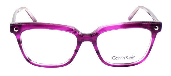 Calvin Klein CK5963 480 Women's Eyeglasses Frames Purple 52-16-140 + CASE