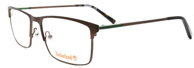 TIMBERLAND TB1568 049 Men's Eyeglasses Frames 56-17-145 Matte Dark Brown + CASE