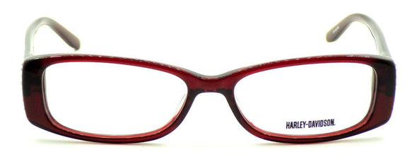 Harley Davidson HD515 RD Women's Eyeglasses Frames 52-15-135 Red w/ Crystals