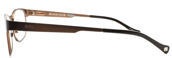 LUCKY BRAND Pacific Women's Eyeglasses Frames 51-18-140 Brown Gradient + CASE