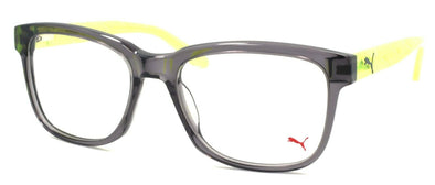 PUMA PU0051O 003 Unisex Eyeglasses Frames 54-18-140 Grey / Yellow + CASE