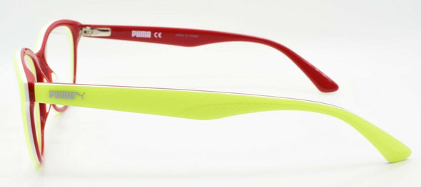 PUMA PU0109O 004 Women's Eyeglasses Frames 52-16-140 Yellow