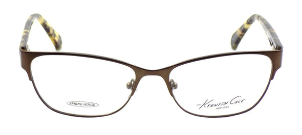Kenneth Cole NY KC0232 049 Women's Eyeglasses Frames 54-16-140 Matte Dark Brown