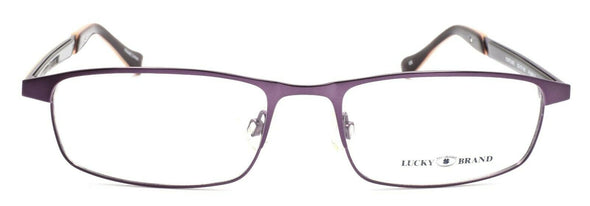 LUCKY BRAND Fortune Women's Eyeglasses Frames 52-17-140 Purple + CASE