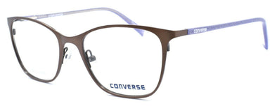 CONVERSE Q202 Women's Eyeglasses Frames 49-17-135 Brown + CASE