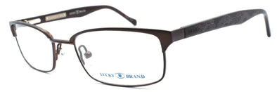 LUCKY BRAND Stephen Kids Boys Eyeglasses Frames 48-17-130 Brown + CASE