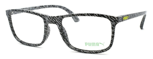 PUMA PU0081O 001 Men's Eyeglasses Frames 53-19-145 Black / Grey